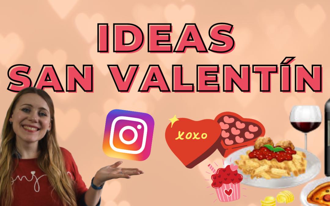 IDEAS de CONTENIDO para SAN VALENTÍN para restaurantes, pastelerías y delivery de comida