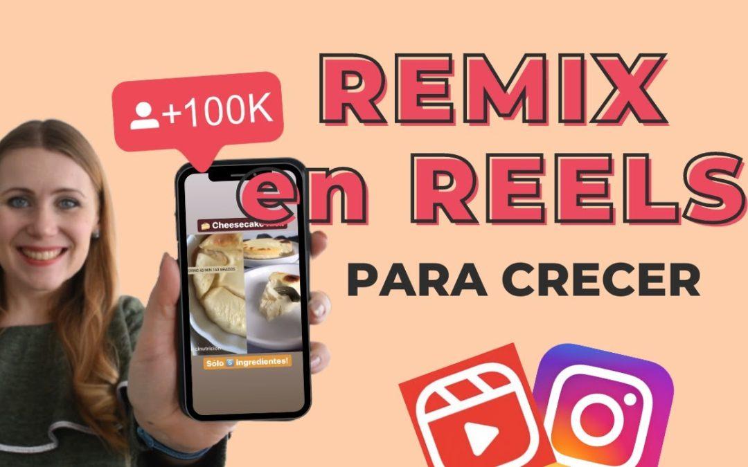 REMIX de REELS en INSTAGRAM 📱 Qué es, Cómo Hacer un DUO en Instagram y Cómo Usarlo para Crecer